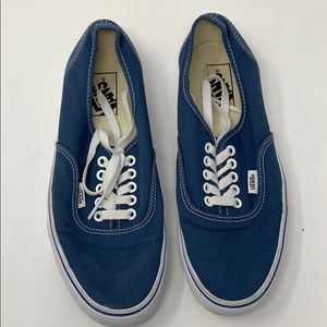 Blue Vans Unisex Shoes
